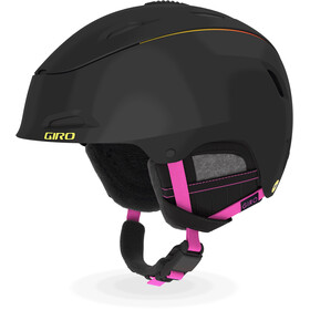 Giro Stellar MIPS Helm Dames, matte black/neon lights